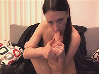 my first tongue fetish clip by sassy ava