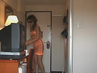 orange see thru naked pizza delivery