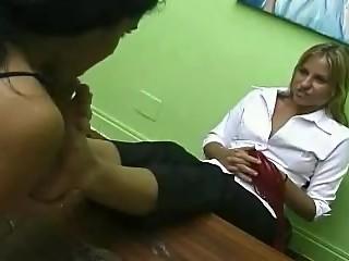 Brazilian Girls Playing With Feet - 06