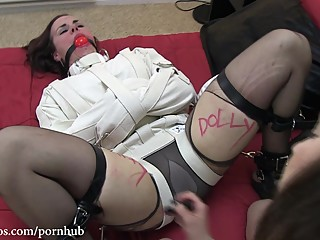 Cherry Doll Straitjacket Humiliation