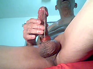 Huge dick loud cum