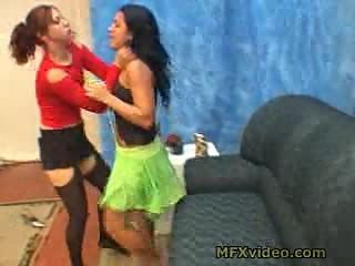 mf femdom choke lady part 1