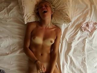 young blonde masturbation