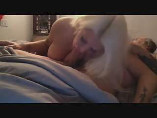 hot milf blowing old guy
