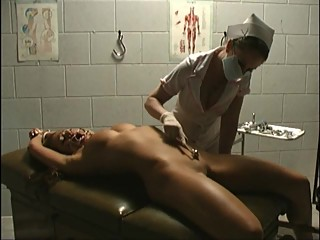 Tied by Dr. Demore and vibed to orgasm