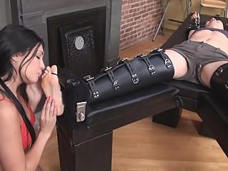 Asian armpit lick tickle