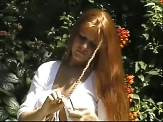 Carmella Long Hair Brushing and Braids