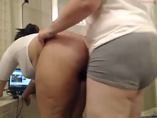Chubby Lesbian Camgirls. Strapon, Candle Wax, Flashlight Fun