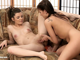 Winter Wanton by Sapphic Erotica - lesbian love porn with