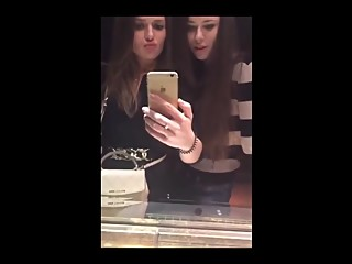 Amateur Russian lesbian hot kiss