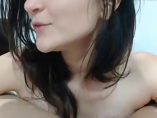 hot brunettes tongue kisses