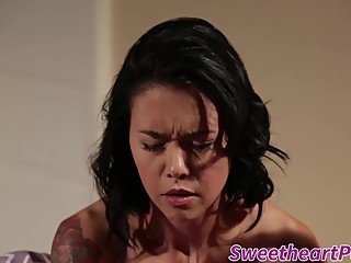 Awesome girls having lesbian experience