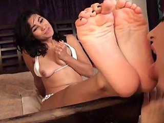 Lesbian Foot Worship - 022