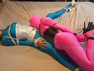 Spandex Lesbian Bondage