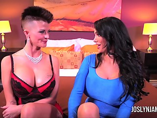 Joslyn James and Amy Anderson Take Turns Giving Orgasms