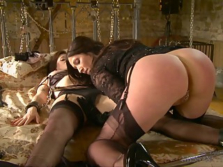 Her first time with  woman