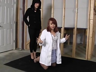 Doctor in basement