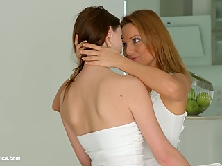 Strap on to turn on by Sapphic Erotica - Sylvia Lauren and