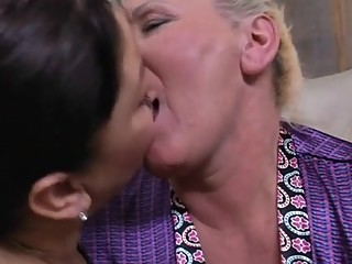 Lesbians - two mature and young