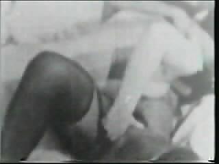 50s interracial lesbo - threesome