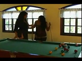 Pool Billard Fisting