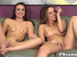 Lesbian webcamshow with sexy Kharlie Stone