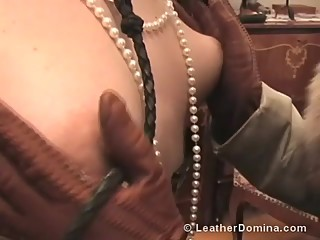 The Leather Domina - Leather Fetish - Smoking Fetish