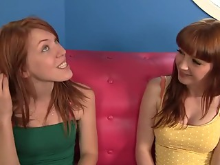 2 Young Redheads, both very Sexy.