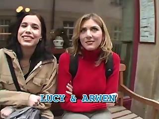 Pretty Lesbians decide to fuck a Black man