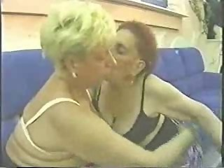True amateur lesbian grannies having fun