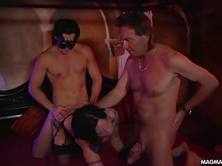 MAGMA FILM Live threesome German Swingers