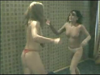 Skinny Women Catfight