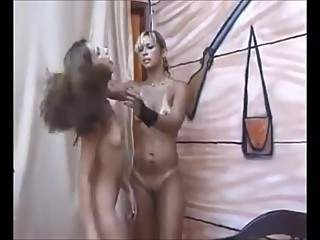 BRAZILIAN LESBIAN GET'S HER ASSHOLE LICKED BY SLAVE