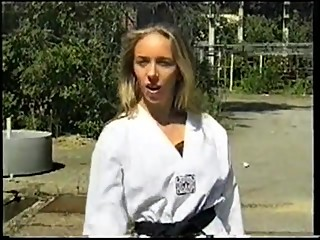 karate fighting