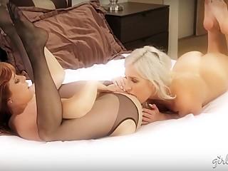 Xandra Sixx, Penny Pax Lesbian Sex