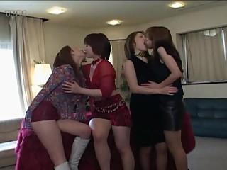 ARMD-130 Crazy Lesbian Kiss Tongue Sonata