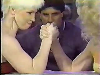 Glow Games Finale Arm Wrestling